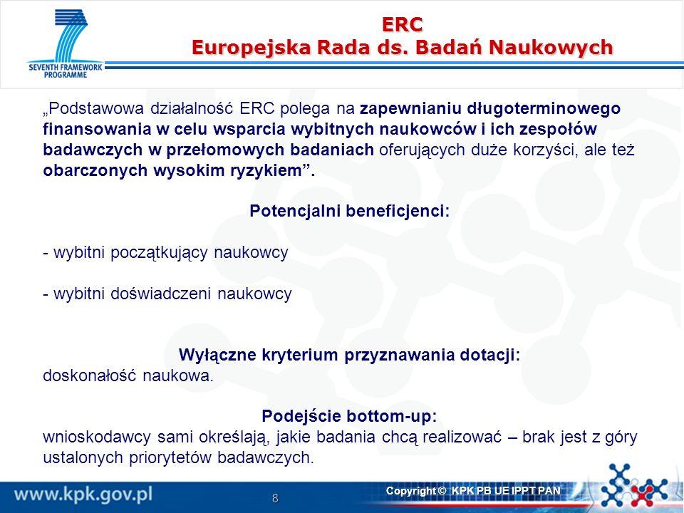 ERC Europejska Rada ds. Badań Naukowych