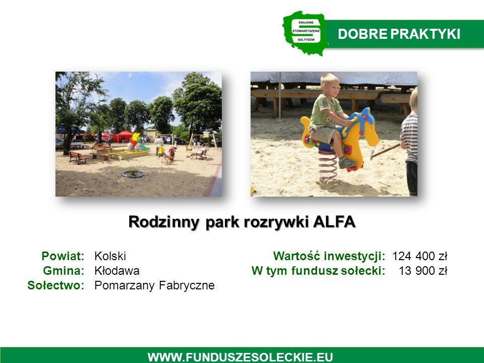 Rodzinny park rozrywki ALFA