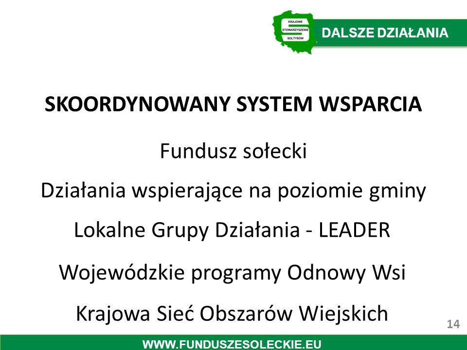 SKOORDYNOWANY SYSTEM WSPARCIA