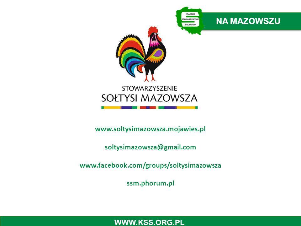 NA MAZOWSZU www.soltysimazowsza.mojawies.pl soltysimazowsza@gmail.com