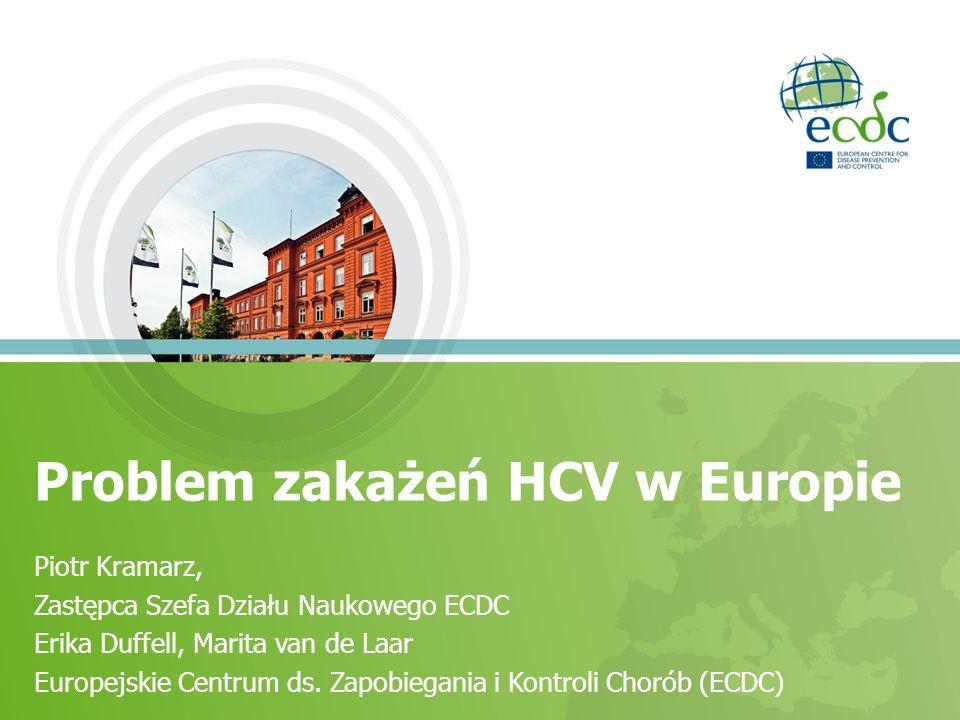 Problem zakażeń HCV w Europie