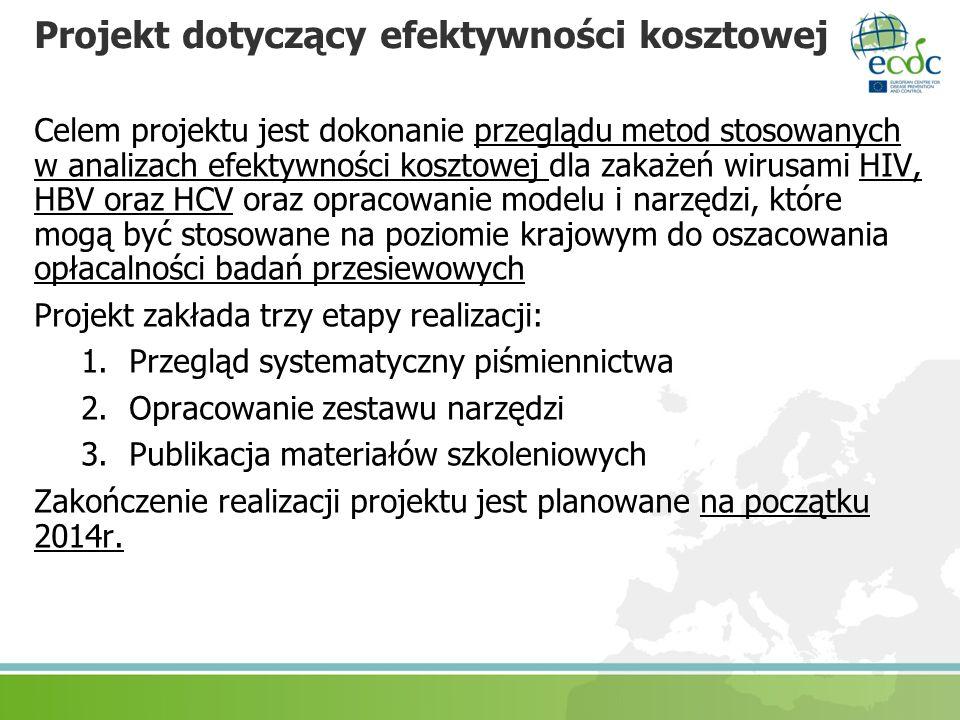 Projekt dotyczący efektywności kosztowej