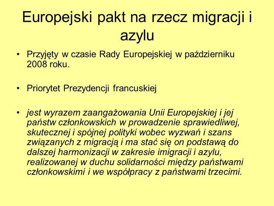 Europejski pakt na rzecz migracji i azylu