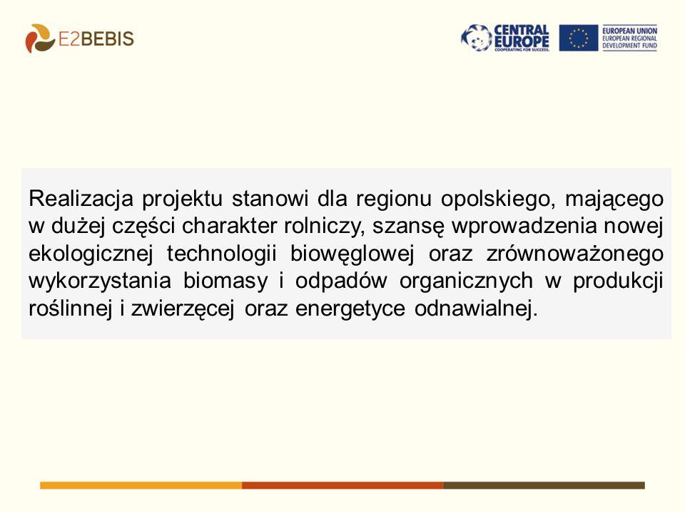 Realizacja projektu stanowi dla regionu opolskiego, mającego w dużej części charakter rolniczy, szansę wprowadzenia nowej ekologicznej technologii biowęglowej oraz zrównoważonego wykorzystania biomasy i odpadów organicznych w produkcji roślinnej i zwierzęcej oraz energetyce odnawialnej.