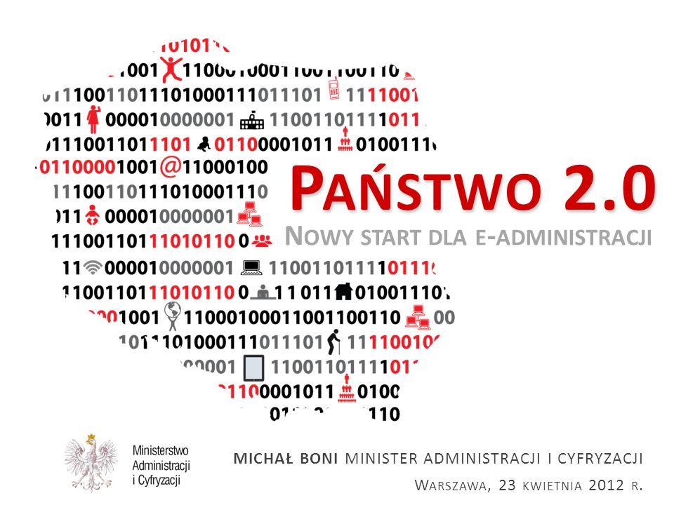Państwo 2.0 Nowy start dla e-administracji