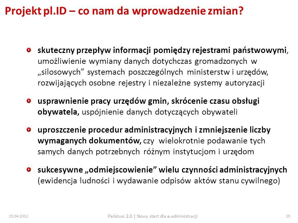 Projekt pl.ID – co nam da wprowadzenie zmian
