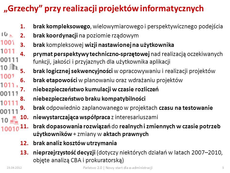 """""""Grzechy przy realizacji projektów informatycznych"""