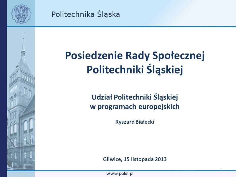 Posiedzenie Rady Społecznej Politechniki Śląskiej