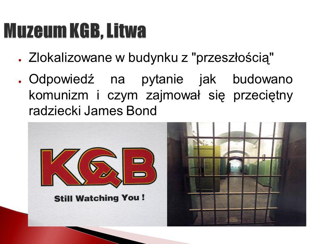 Muzeum KGB, Litwa Zlokalizowane w budynku z przeszłością