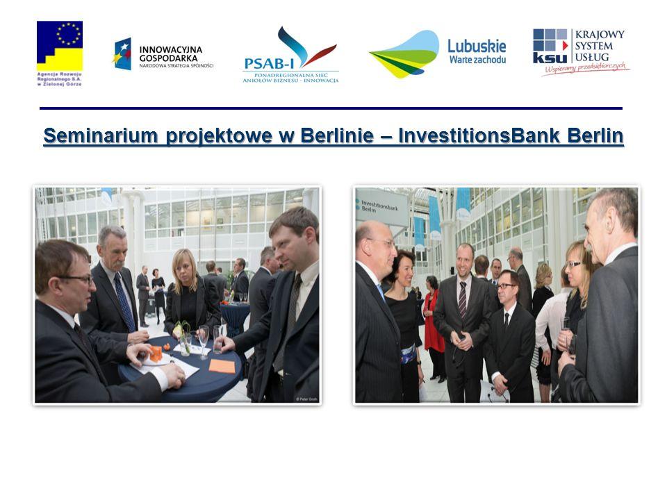 Seminarium projektowe w Berlinie – InvestitionsBank Berlin
