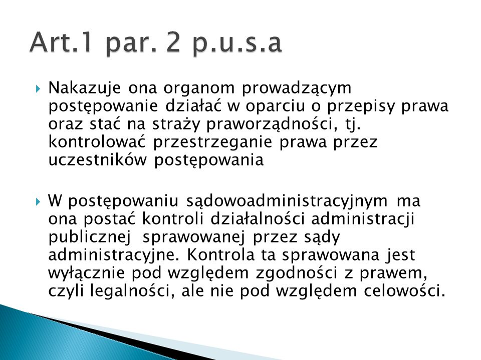 Art.1 par. 2 p.u.s.a