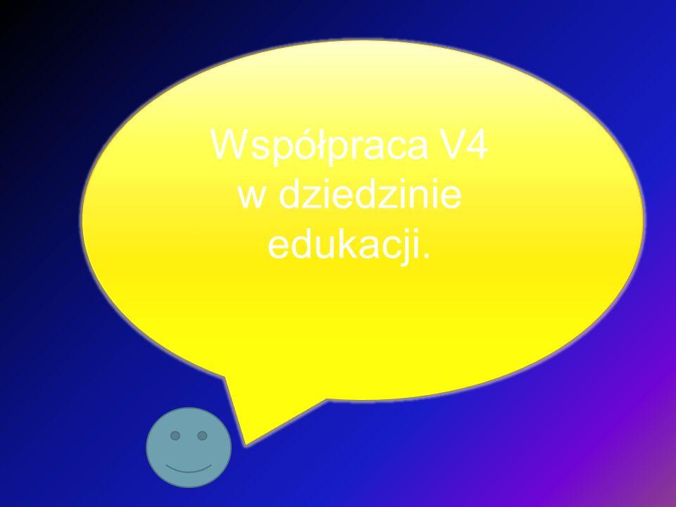 Współpraca V4 w dziedzinie edukacji.