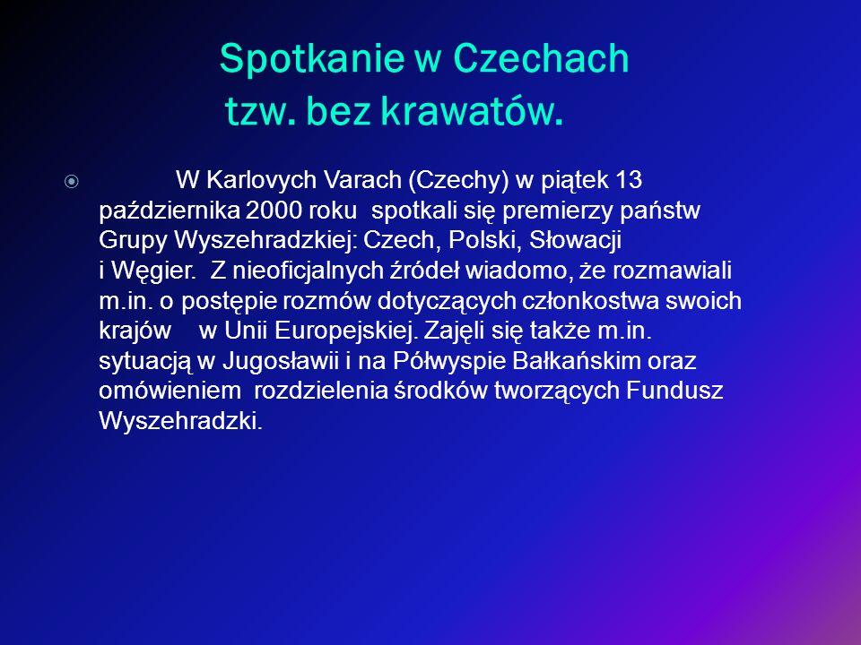 Spotkanie w Czechach tzw. bez krawatów.