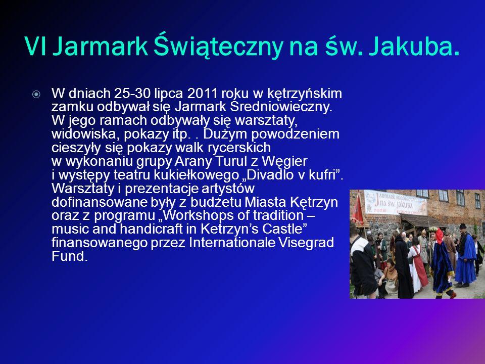 VI Jarmark Świąteczny na św. Jakuba.