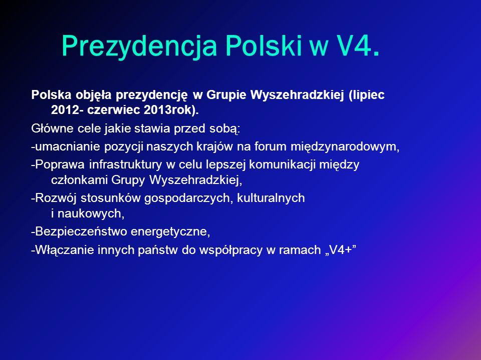 Prezydencja Polski w V4.