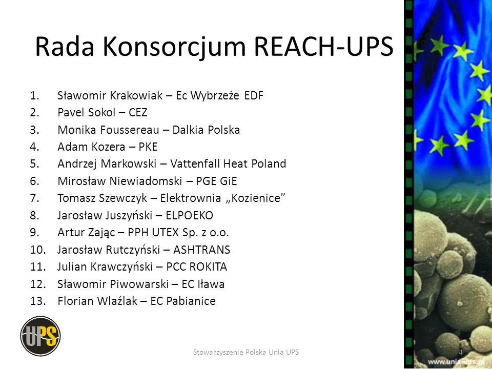 Rada Konsorcjum REACH-UPS