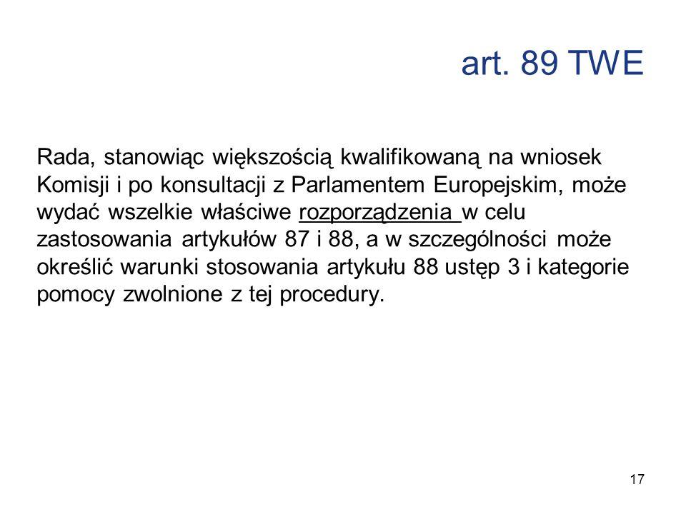 art. 89 TWE