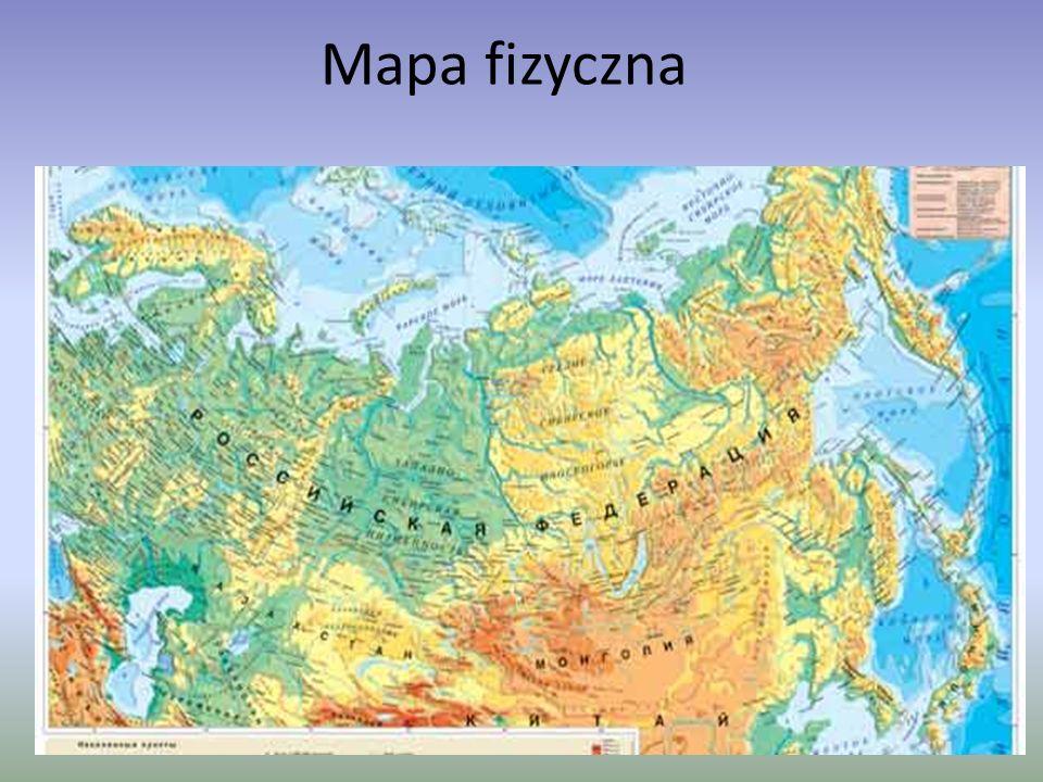 Mapa fizyczna