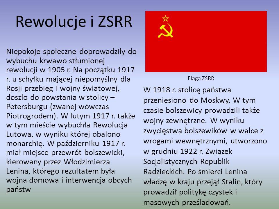 Rewolucje i ZSRR