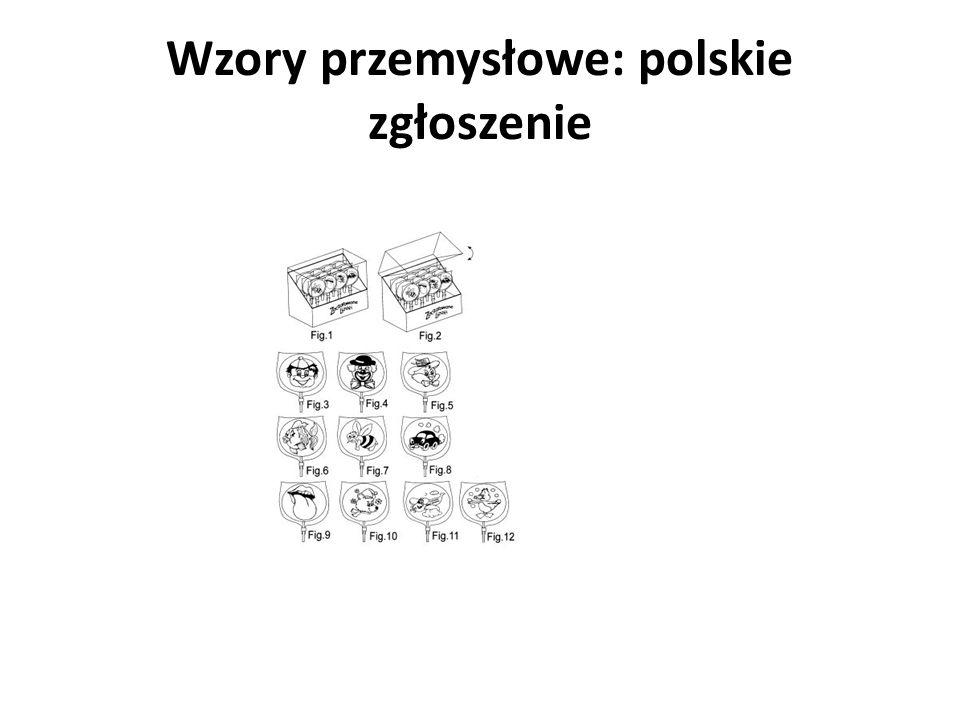 Wzory przemysłowe: polskie zgłoszenie