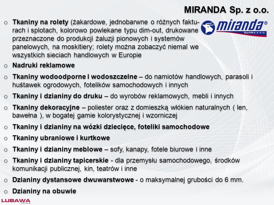 MIRANDA Sp. z o.o.