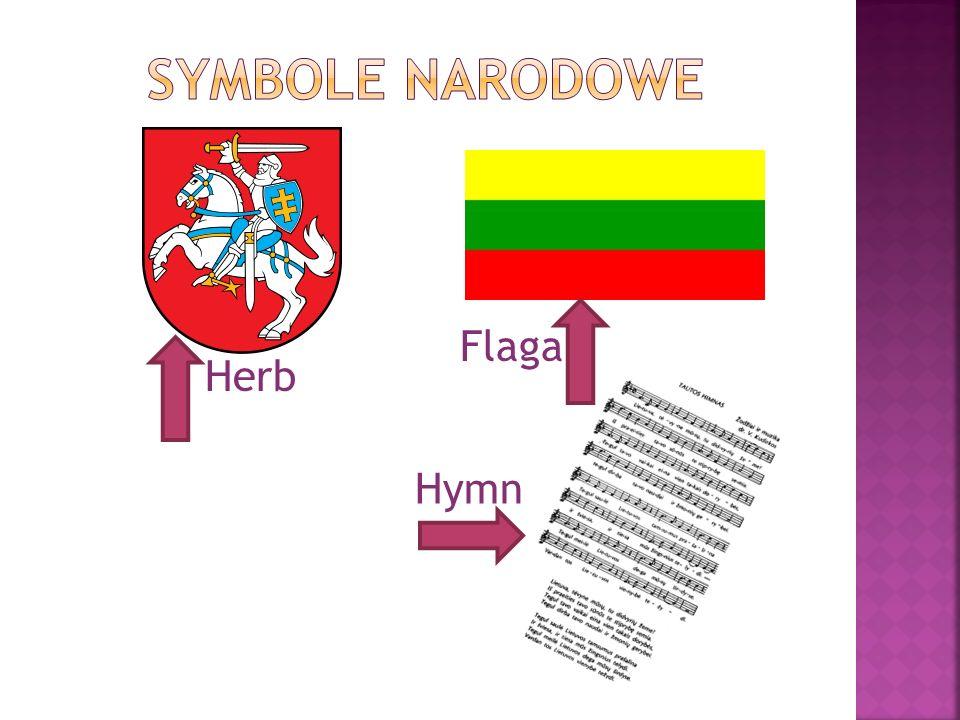 Symbole narodowe Flaga Herb Hymn