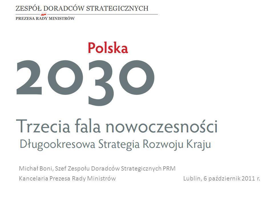 Michał Boni, Szef Zespołu Doradców Strategicznych PRM