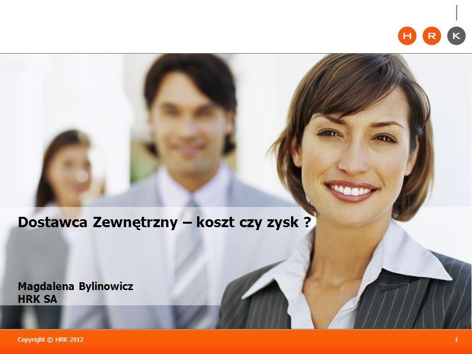 Magdalena Bylinowicz HRK SA