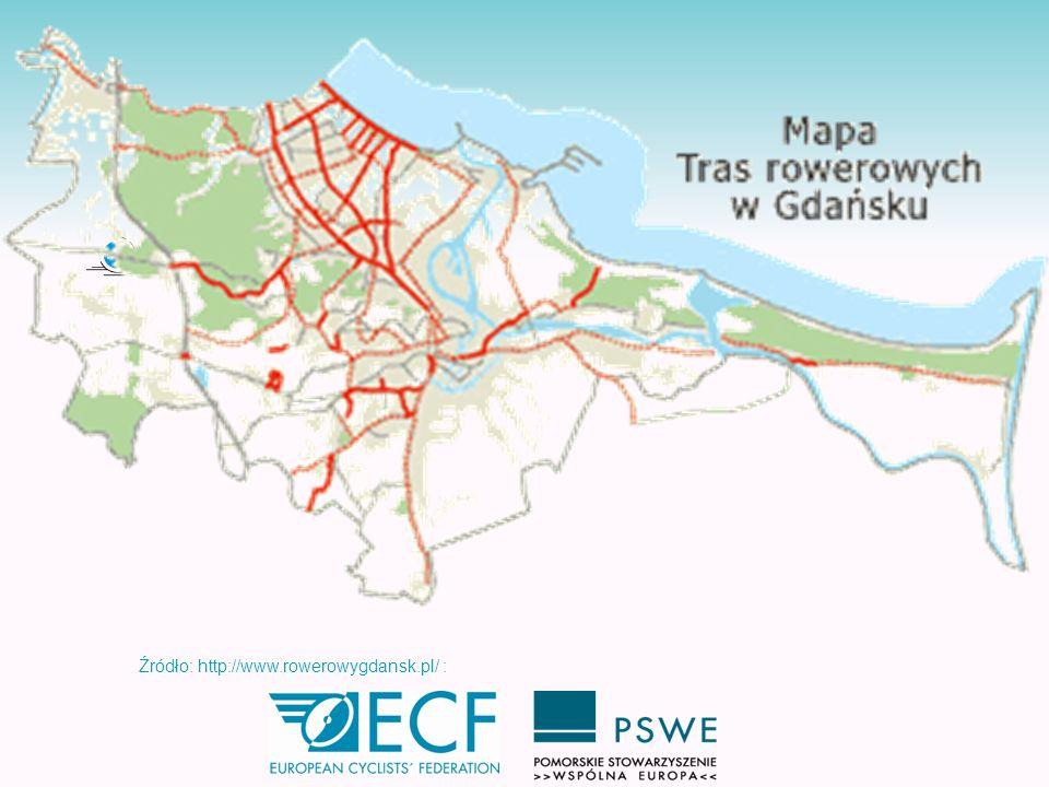 Gdzie możemy rowerem jeździć po Gdańsku