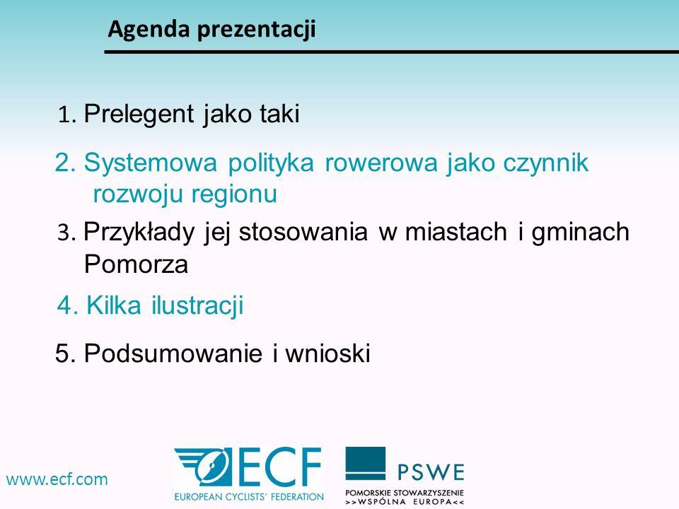 2. Systemowa polityka rowerowa jako czynnik rozwoju regionu