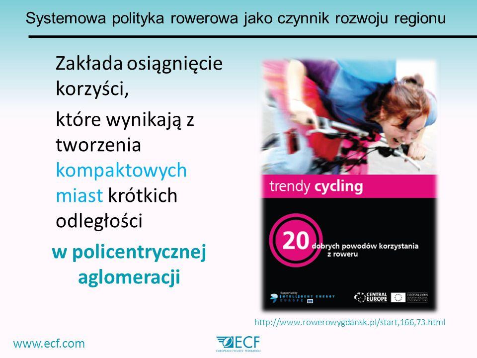 Systemowa polityka rowerowa jako czynnik rozwoju regionu