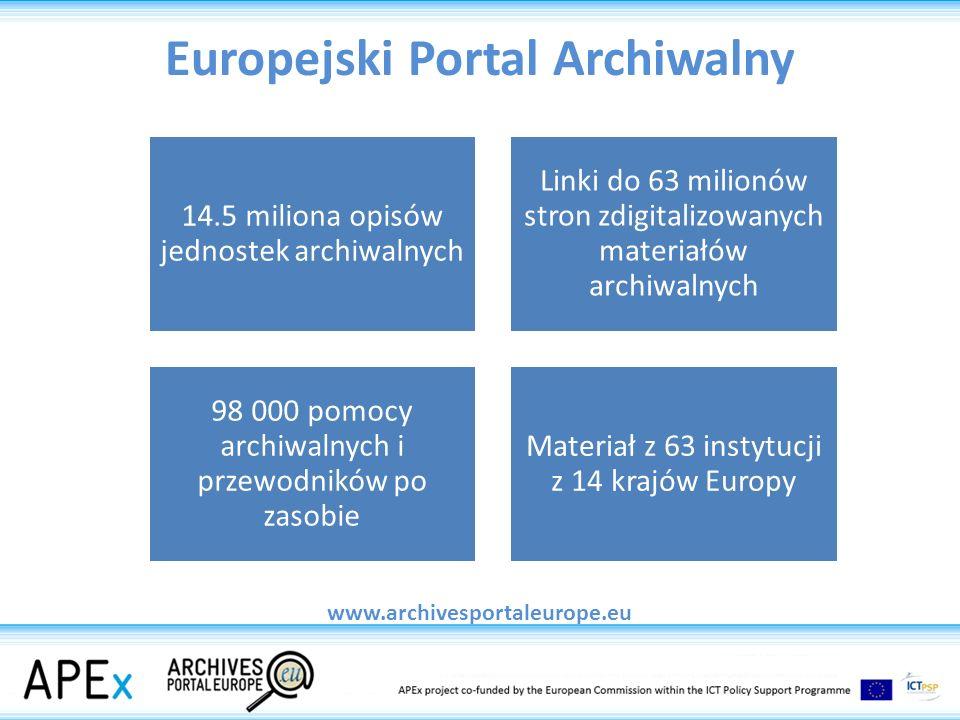 Europejski Portal Archiwalny