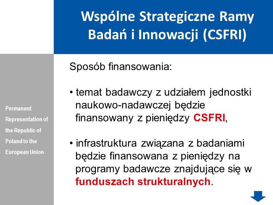 Wspólne Strategiczne Ramy Badań i Innowacji (CSFRI)