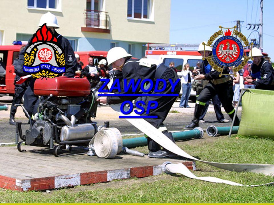 ZAWODY OSP