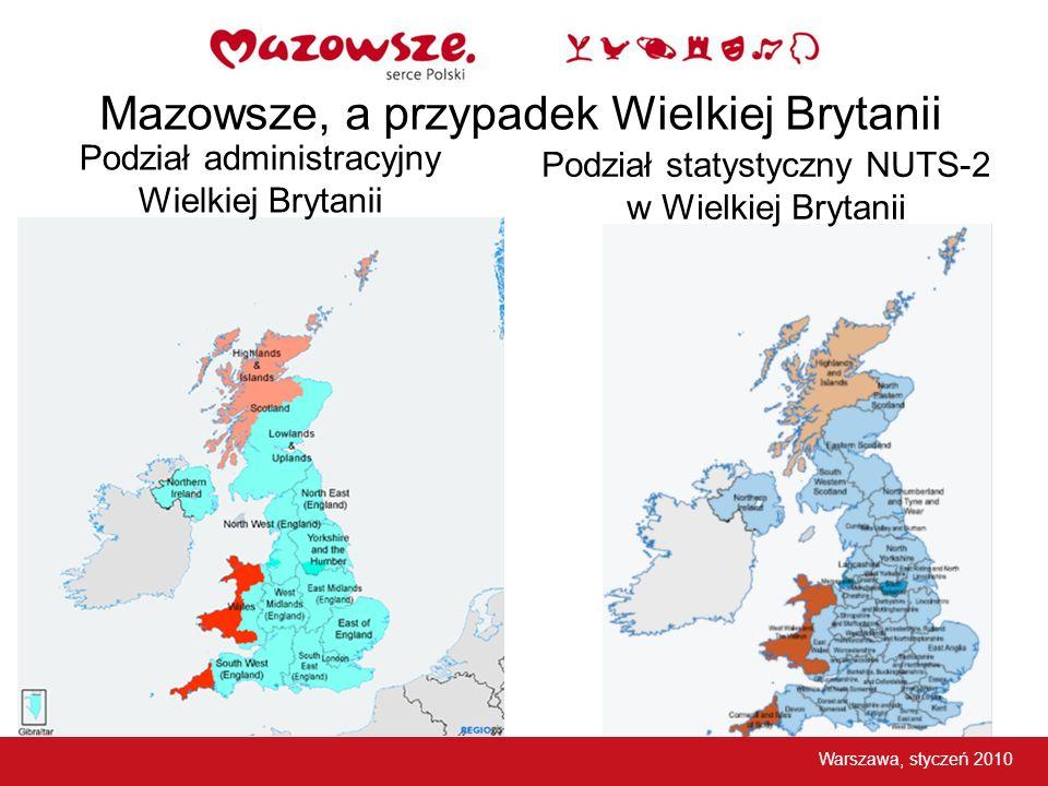 Podział administracyjny Wielkiej Brytanii
