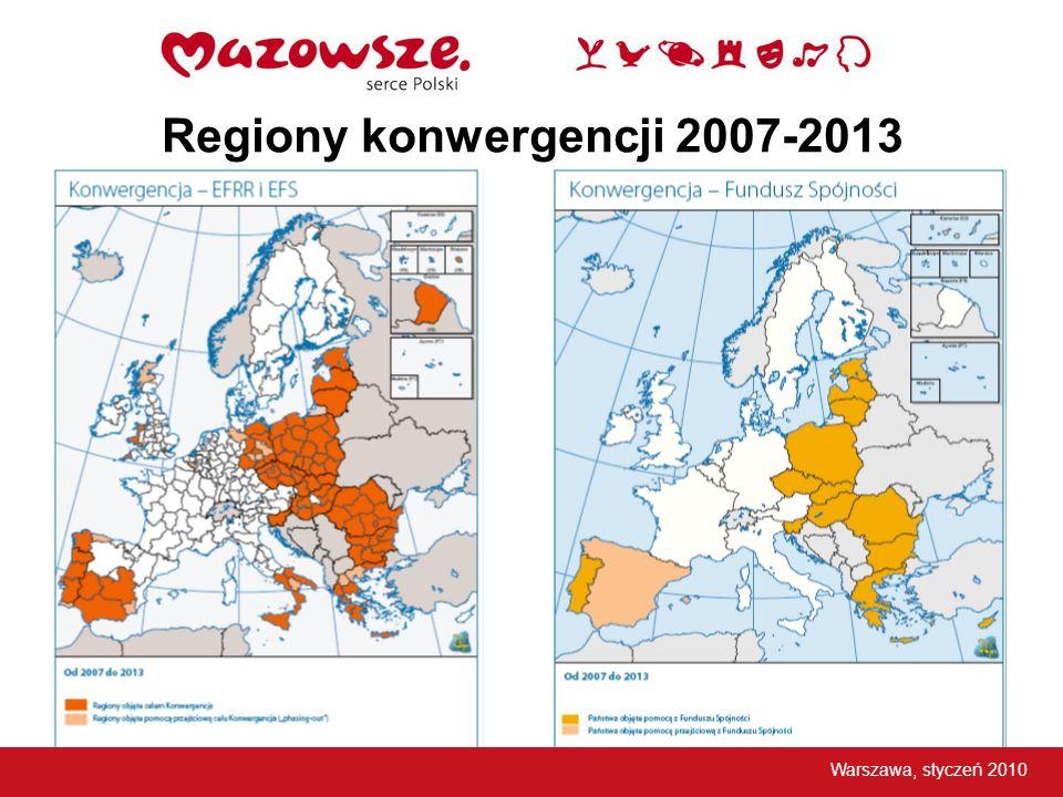 Regiony konwergencji 2007-2013