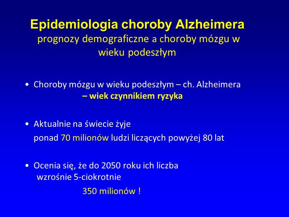 Epidemiologia choroby Alzheimera prognozy demograficzne a choroby mózgu w wieku podeszłym