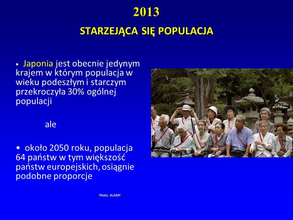 2013 STARZEJĄCA SIĘ POPULACJA