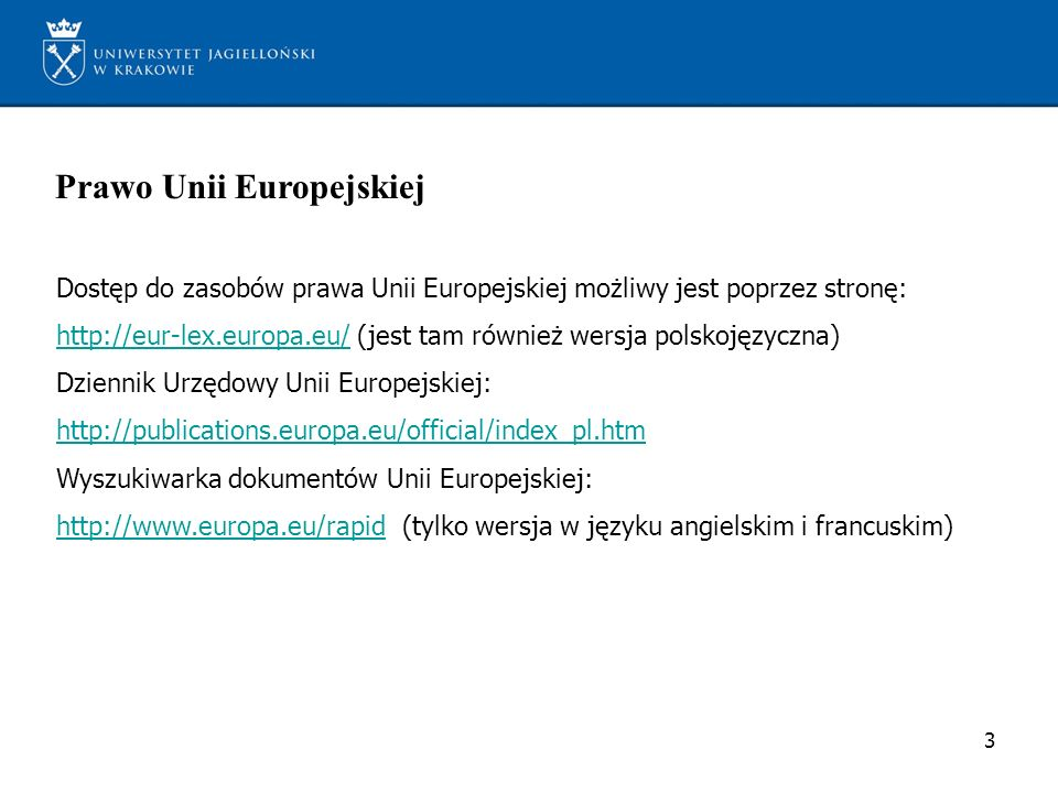 Prawo Unii Europejskiej