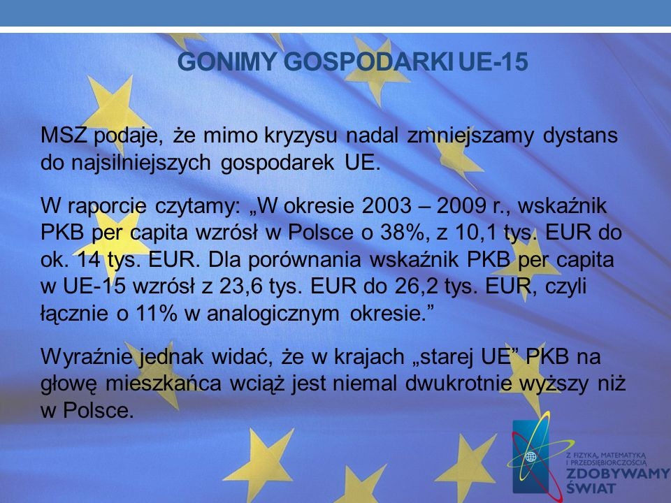 GONIMY GOSPODARKI UE-15