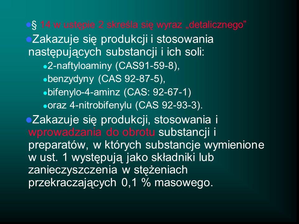 """§ 14 w ustępie 2 skreśla się wyraz """"detalicznego"""
