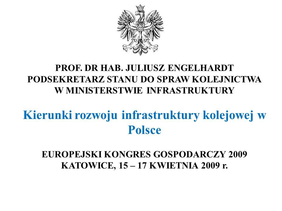 Kierunki rozwoju infrastruktury kolejowej w Polsce
