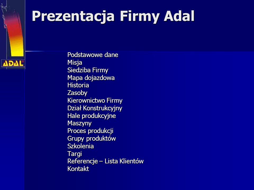 Prezentacja Firmy Adal