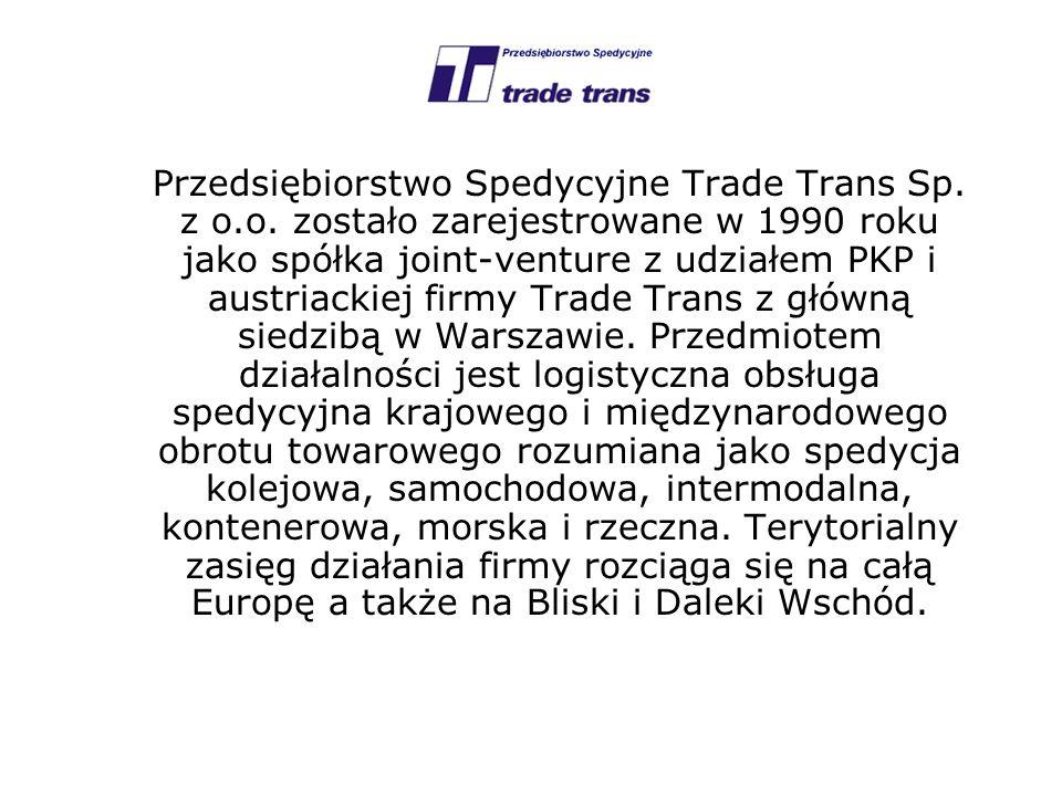 Przedsiębiorstwo Spedycyjne Trade Trans Sp. z o. o