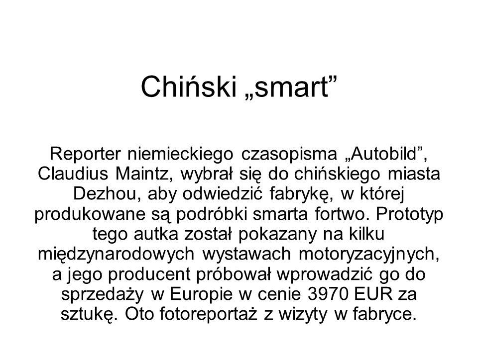 "Chiński ""smart"