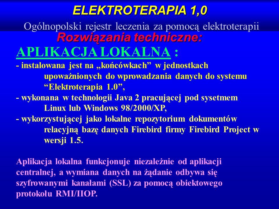 Rozwiązania techniczne: