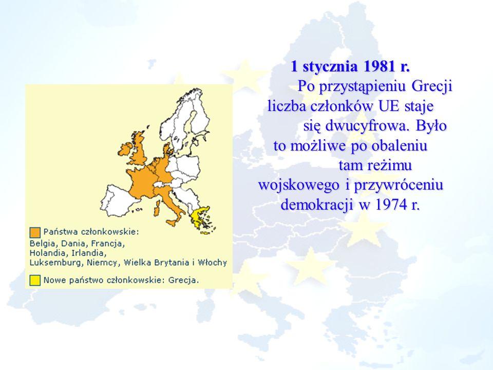 Po przystąpieniu Grecji liczba członków UE staje