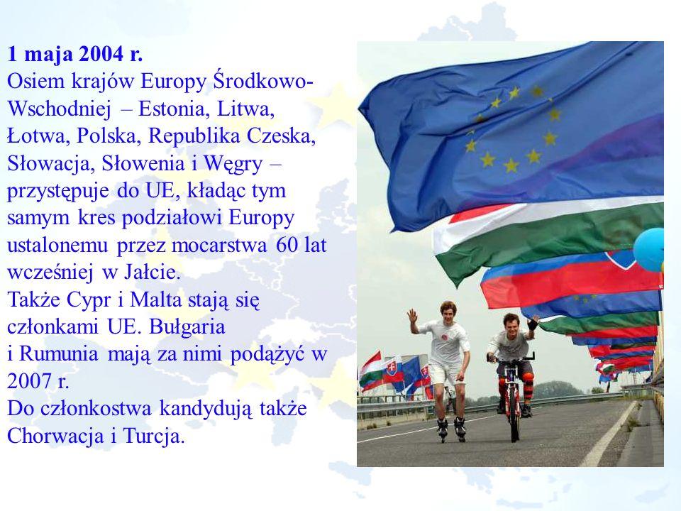 Osiem krajów Europy Środkowo-Wschodniej – Estonia, Litwa,