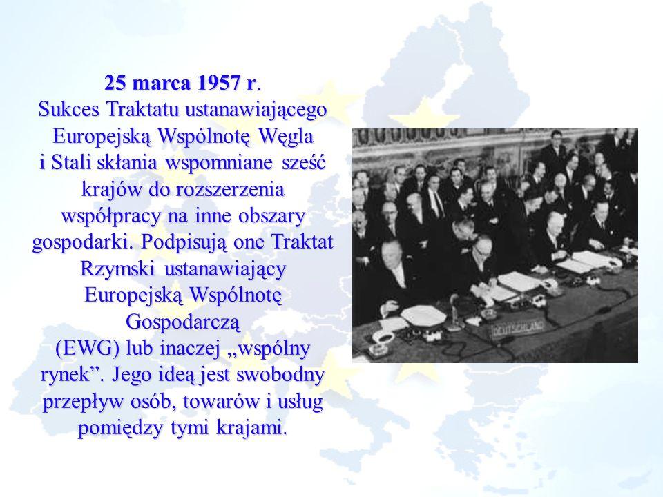 Sukces Traktatu ustanawiającego Europejską Wspólnotę Węgla