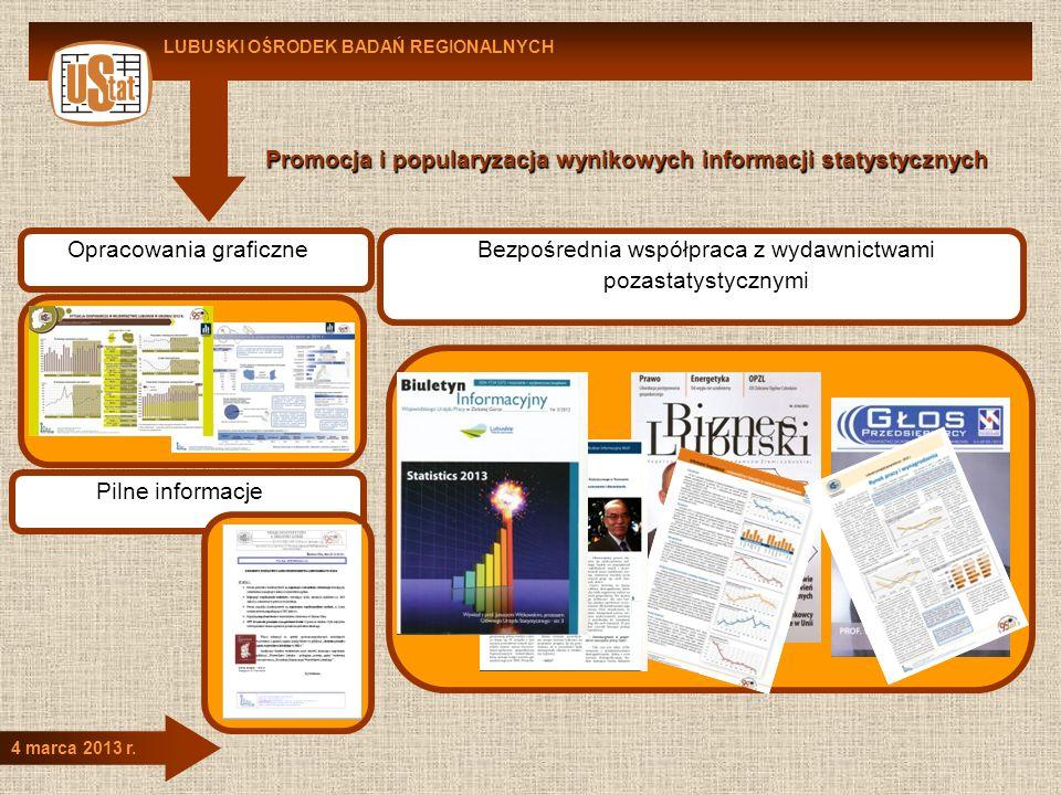 Promocja i popularyzacja wynikowych informacji statystycznych